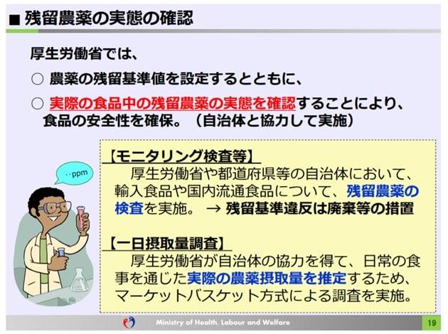 玄米 農薬 危険